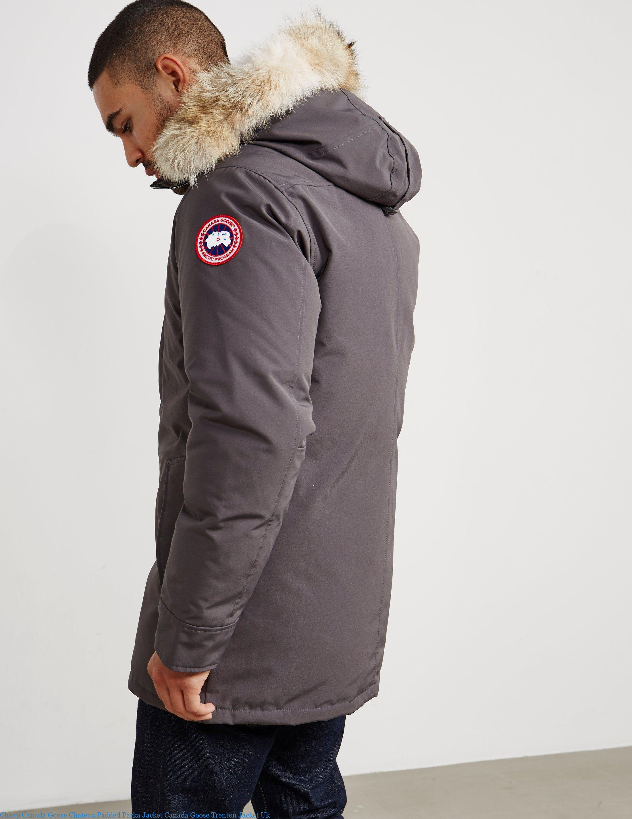 new arrival fff08 9157b Cheap Canada Goose Chateau Padded Parka Jacket Canada Goose Trenton Jacket  Uk